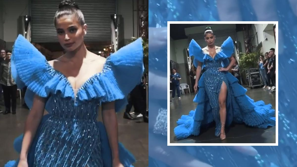 Anne Curtis stuns in Michael Cinco at Binibining Pilipinas 2019