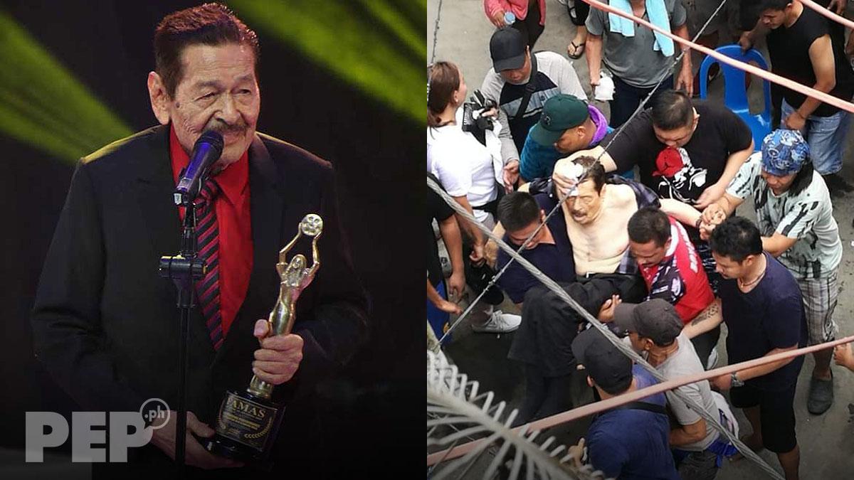 Sagot ba ng GMA Productions ang nangyari kay Eddie Garcia?