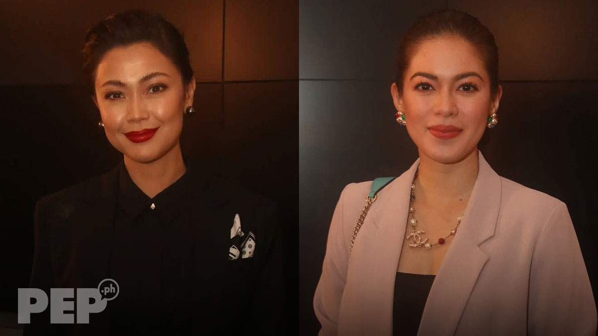 Shaina Magdayao supports Jodi Sta. Maria at Clarita premiere night