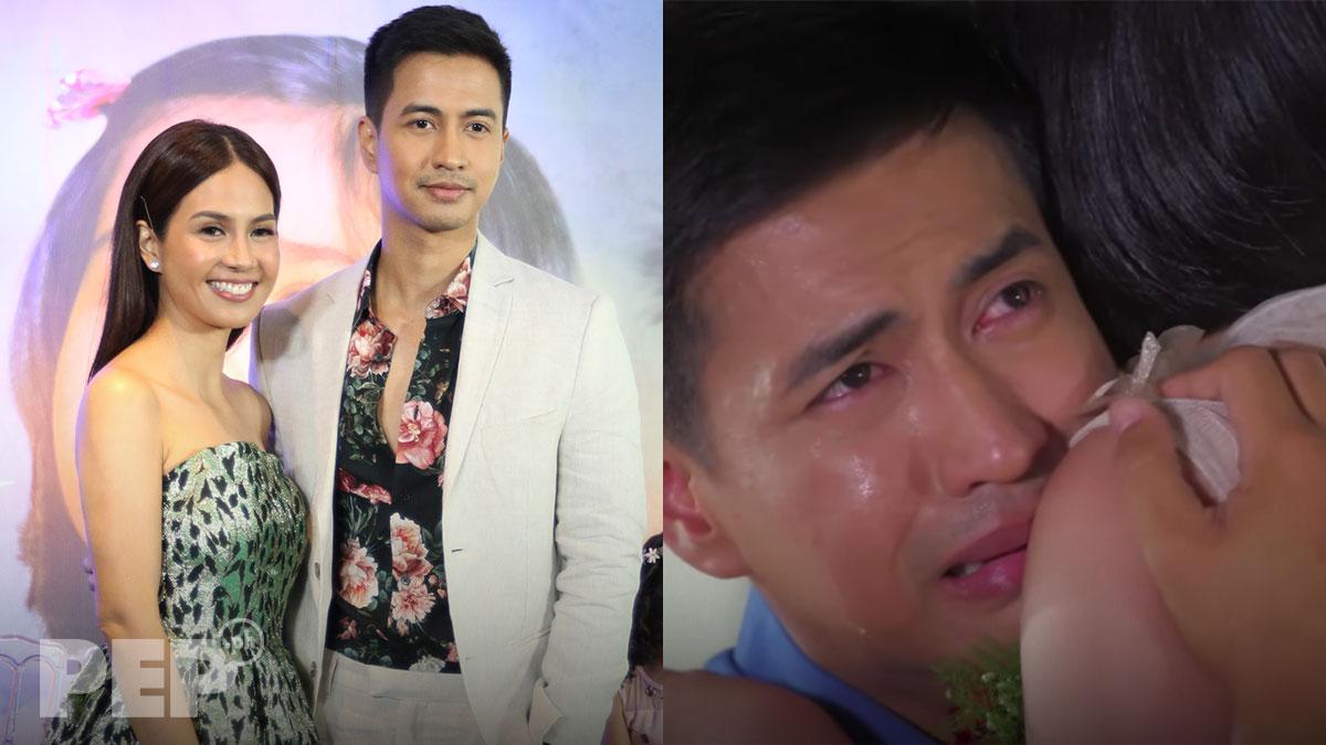"RK Bagatsing reacts to Kaye Abad's ""Naiyak ako"" comment about his acting"