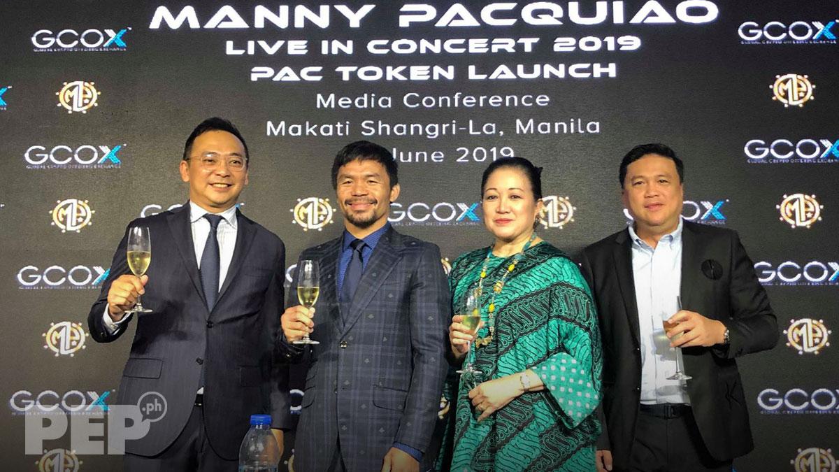 Sen. Manny Pacquiao, may pasabog na concert sa September