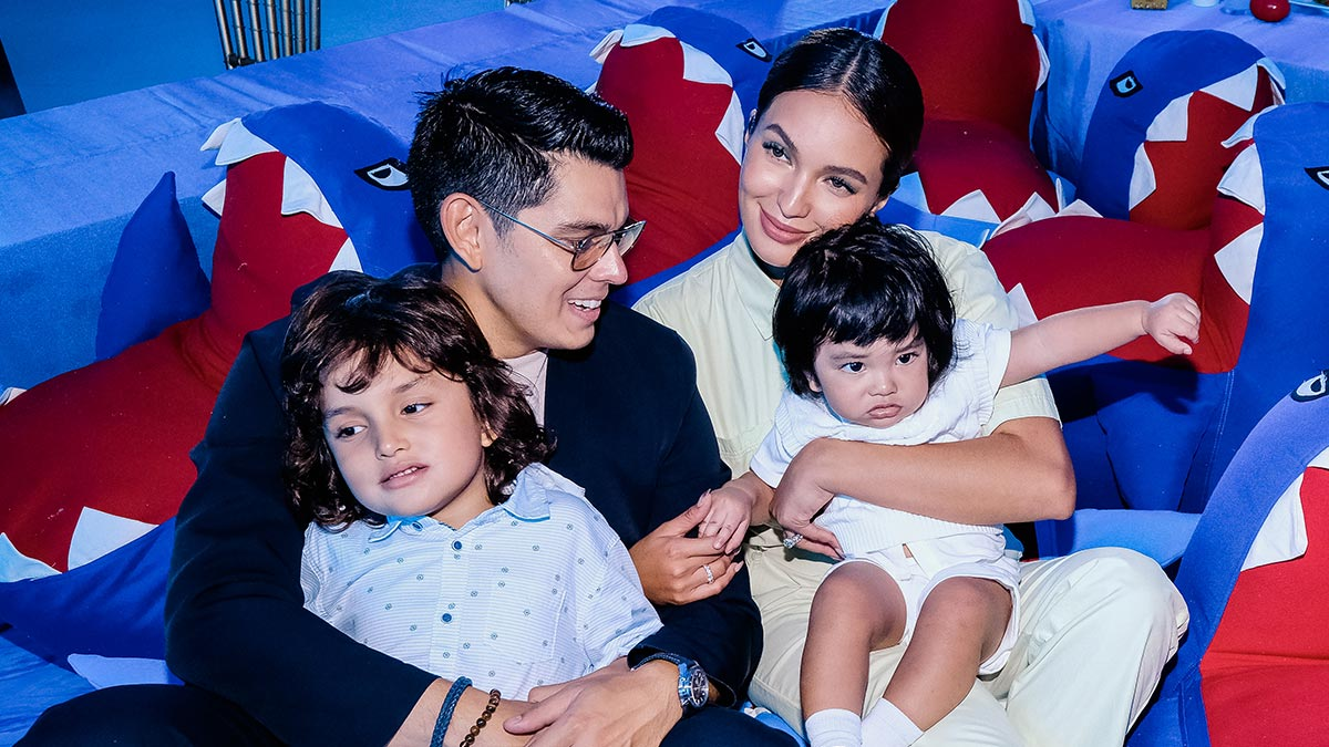 Baby Kai Gutierrez gets a star-studded party on his 1st birthday