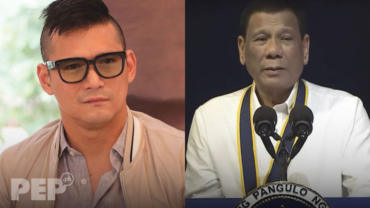 Robin Padilla sides with President Duterte on China vessel incident