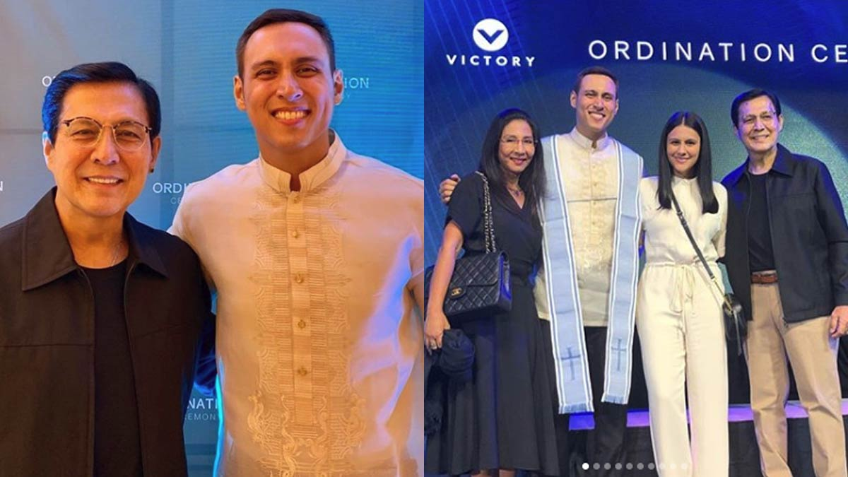 """Bodie Cruz now an ordained pastor: """"Promise fulfilled"""""""