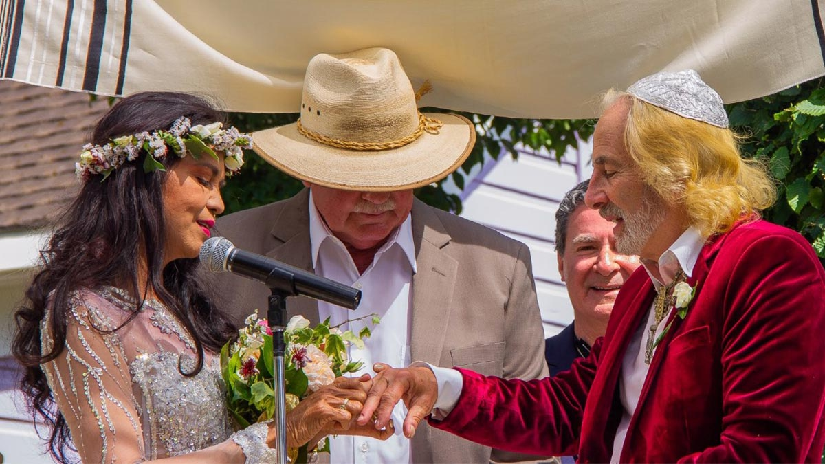 Maria Isabel Lopez, 60, marries for the second time
