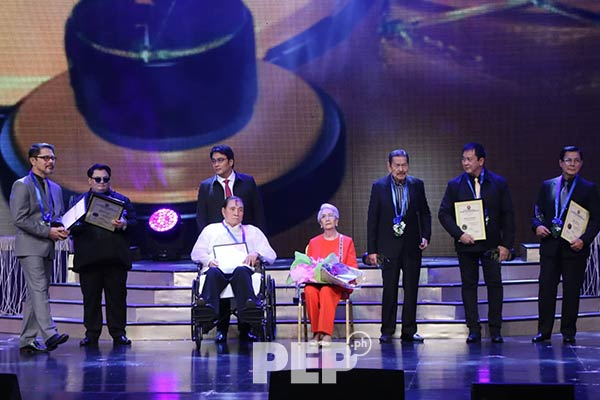 Eddie Garcia at the PMPC Star Awards 2019