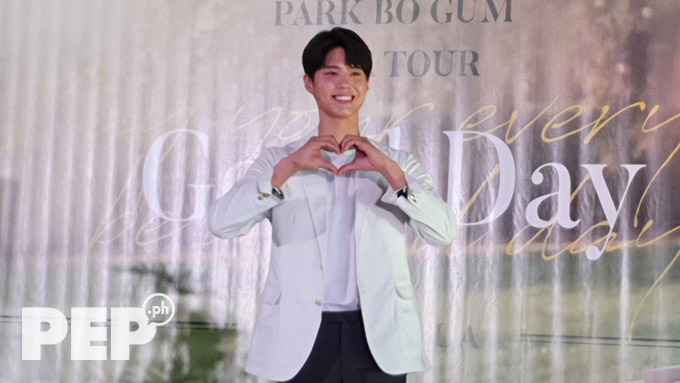 South Korean heartthrob Park Bo Gum stoked by warm welcome from Pinoy fans