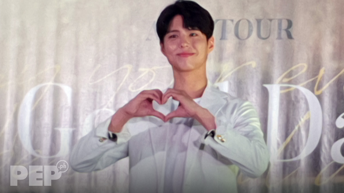 "Park Bo Gum to Filipino fans: ""I really want to come here."""