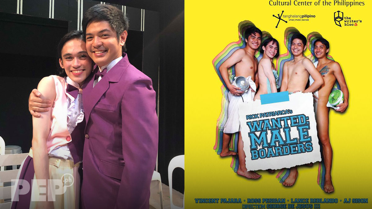 Theater actor Ross Pesigan comfortable doing torrid kissing scene with gay actor