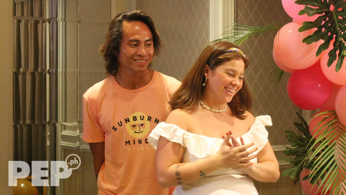 Andi Eigenmann says boyfriend Philmar Alipayo is firm about decision not to hire a nanny