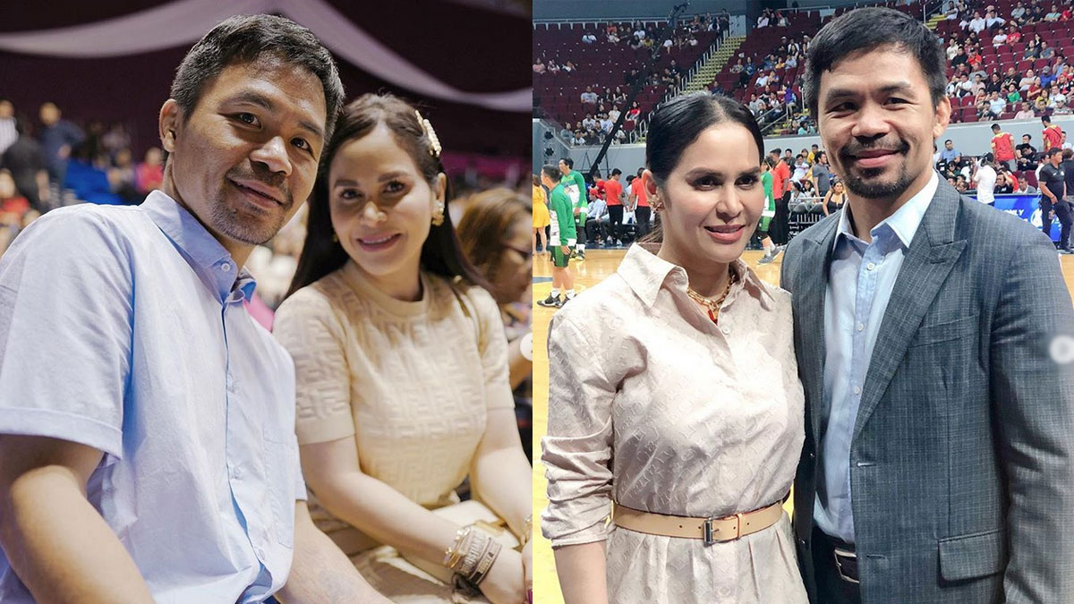 Jinkee Pacquiao nervous about Manny's upcoming fight with Keith Thurman