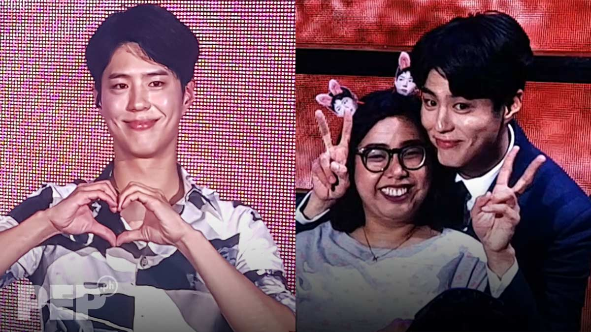 Korean star Park Bo Gum performs Daniel Padilla, Gary V songs at Manila fan meet