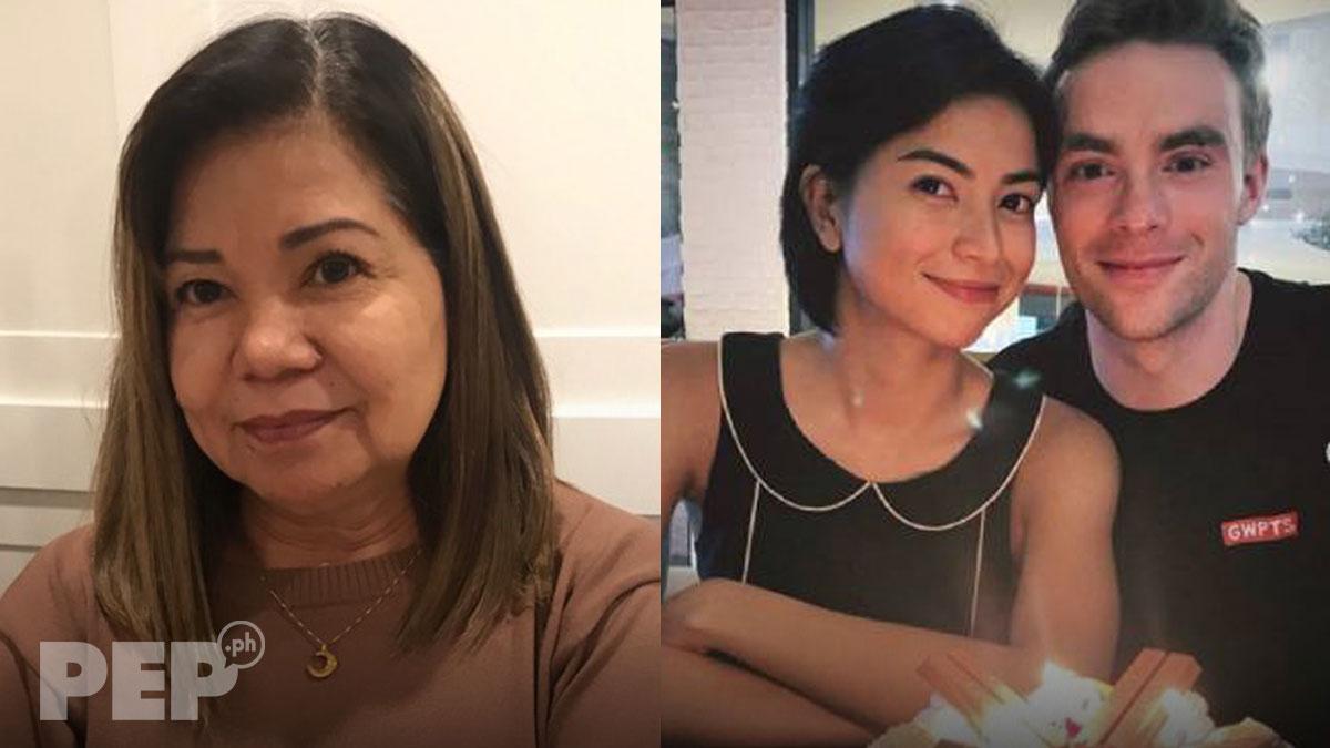 Glaiza de Castro's mom approves of David Rainey for Kapuso actress