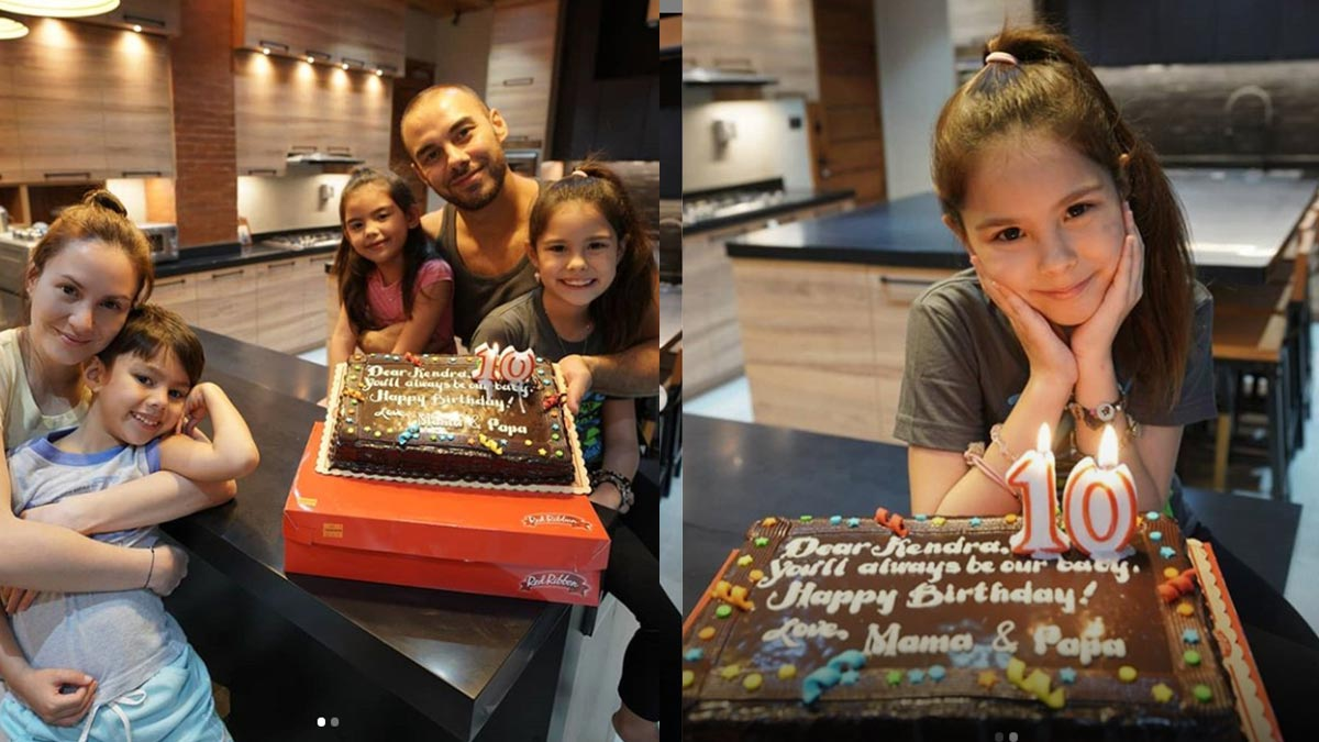 Kendra Kramer celebrates 10th birthday at their new home