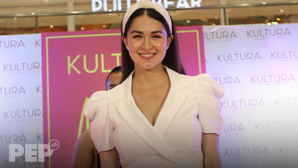 """Marian Rivera wears """"extra girly"""" OOTD for her first public appearance after giving birth to Baby Ziggy"""