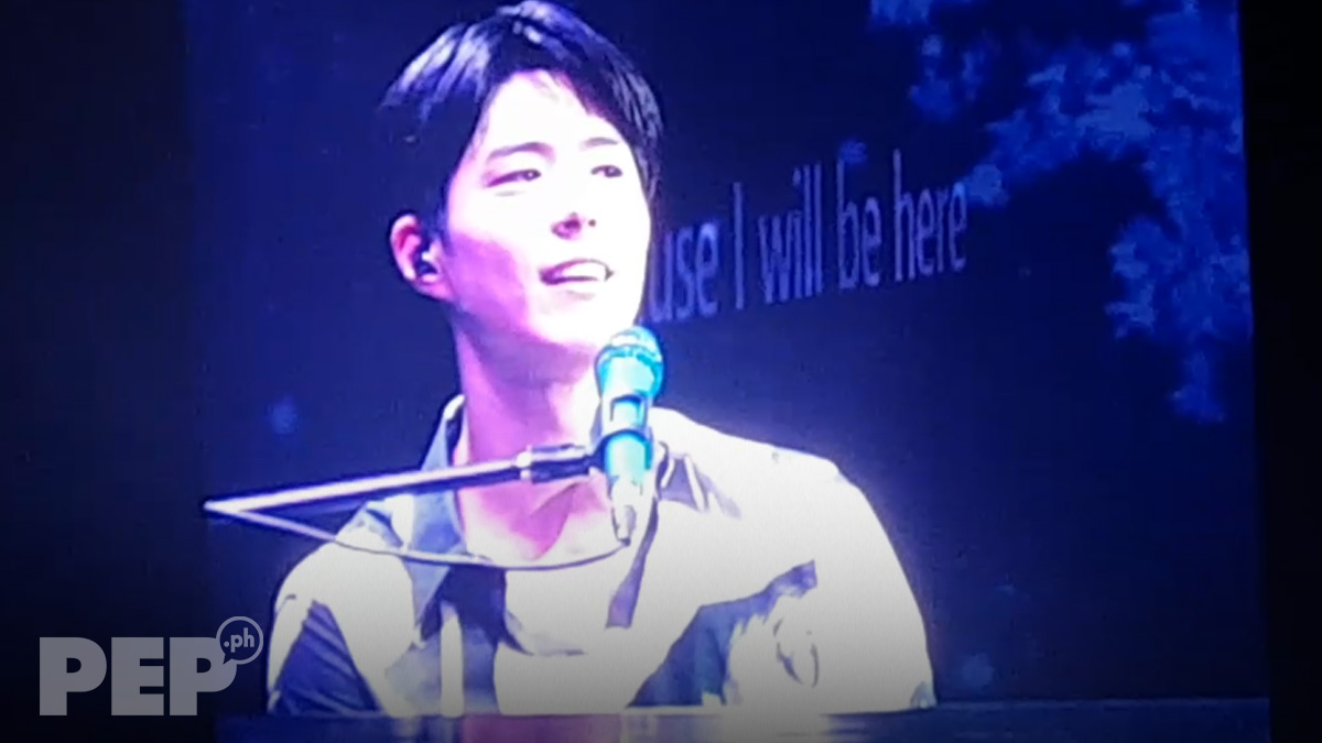 "Watch: Park Bo Gum sings ""I Will Be Here"""