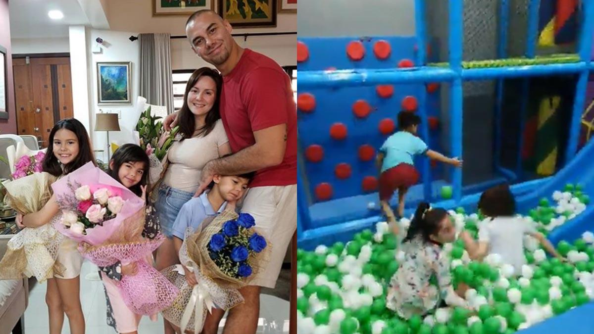 "Cheska Garcia and Doug Kramer surprise kids with their own ""adventure zone"""