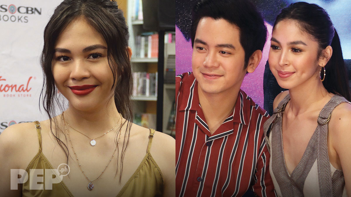 Janella Salvador says team up with Joshua Garcia approved by Julia Barretto