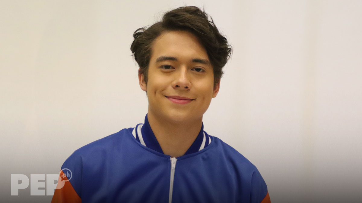 Jameson Blake laughs off questions about his sexual orientation