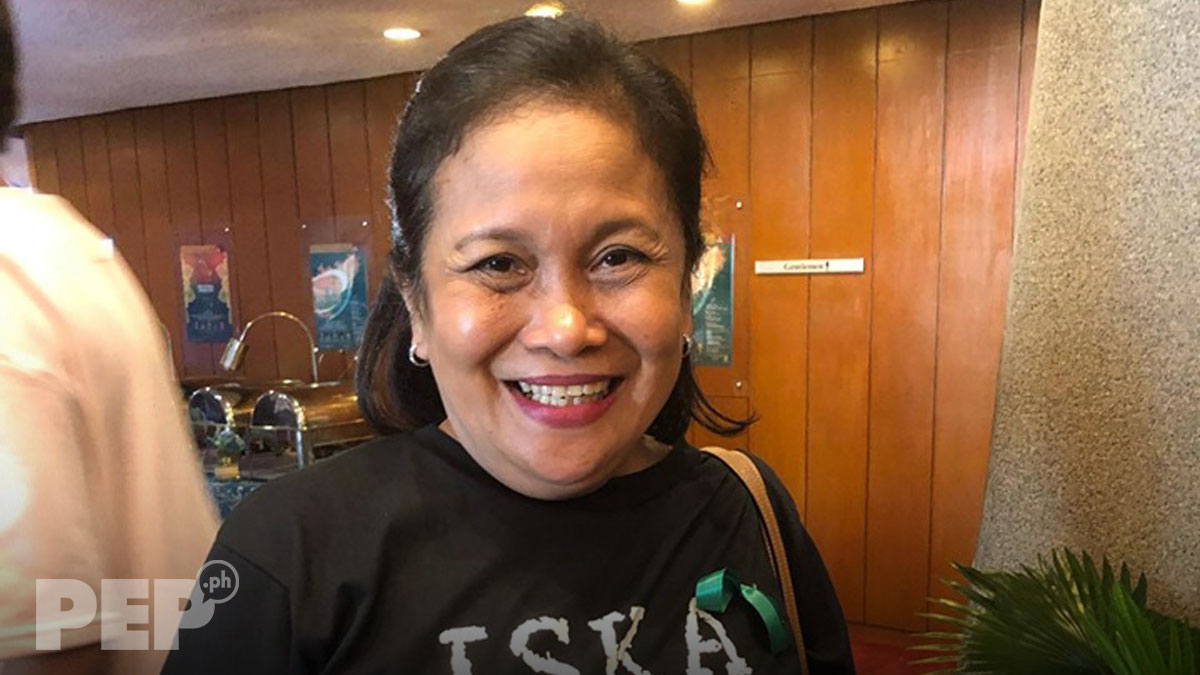 Character actress Ruby Ruiz, first time nagbida sa pelikula after four decades