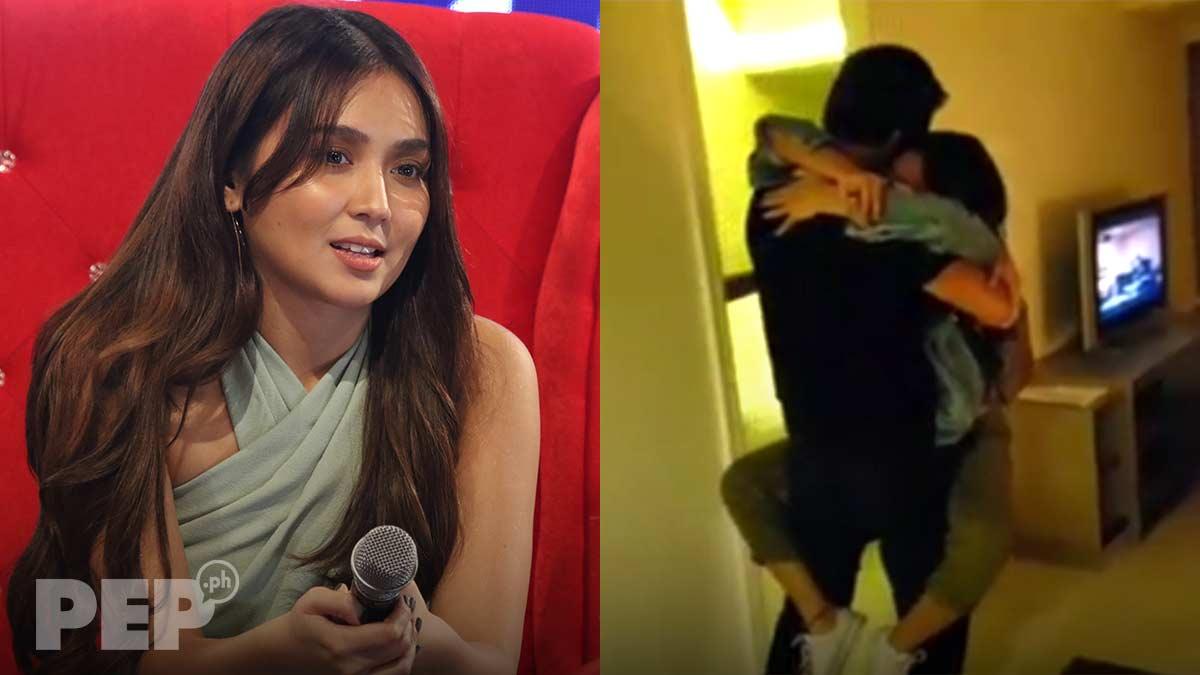 Kathryn Bernardo explains jumping on boyfriend Daniel Padilla in viral video