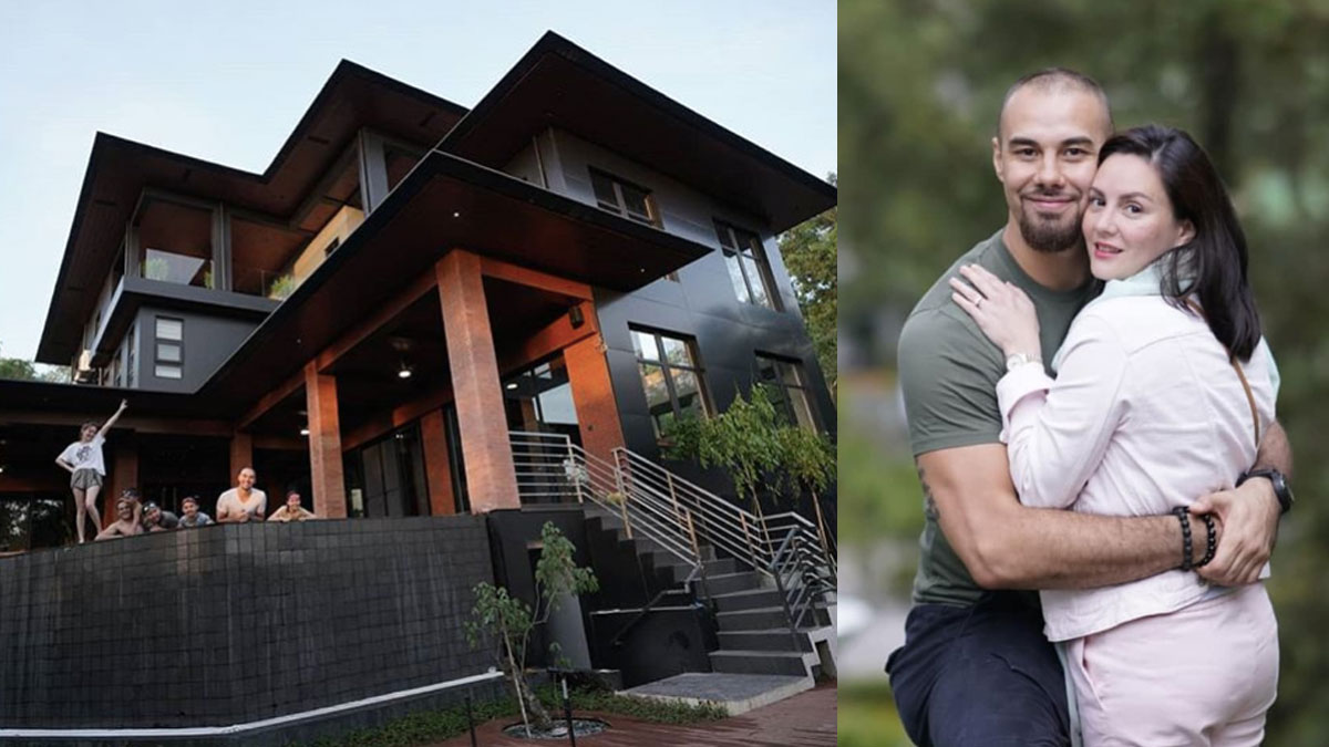 Team Kramer holds intimate house blessing for their mansion
