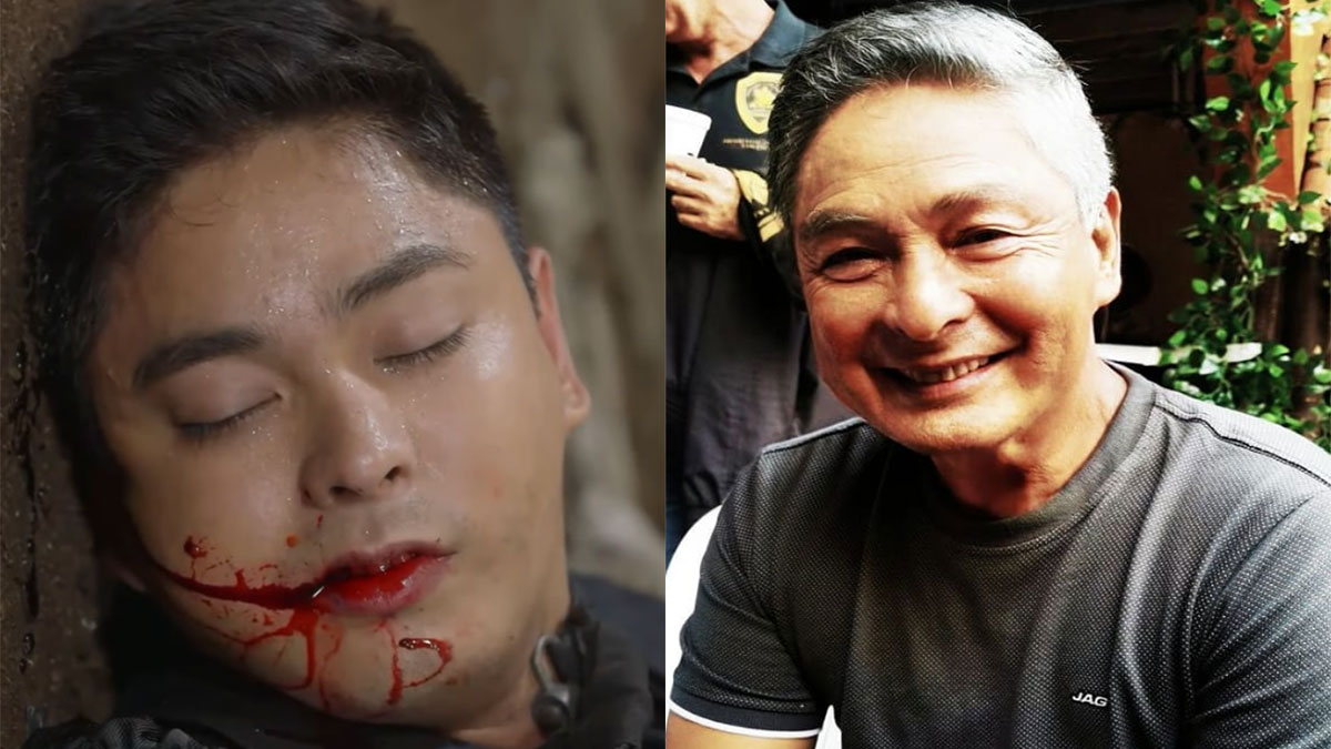"Is this Coco Martin's reaction to Cardo Dalisay's ""death"" in Ang Probinsyano?"