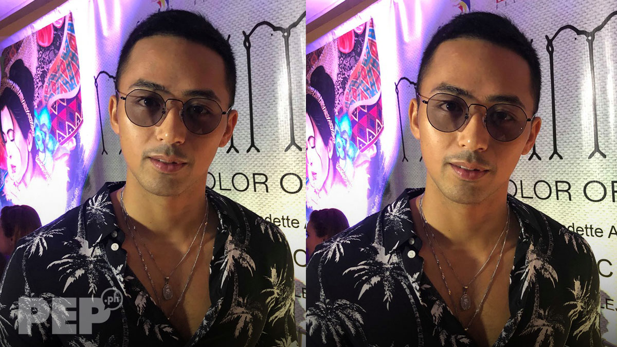 Enzo Pineda shocked by threesome blind item involving him, Teejay Marquez, David Licauco
