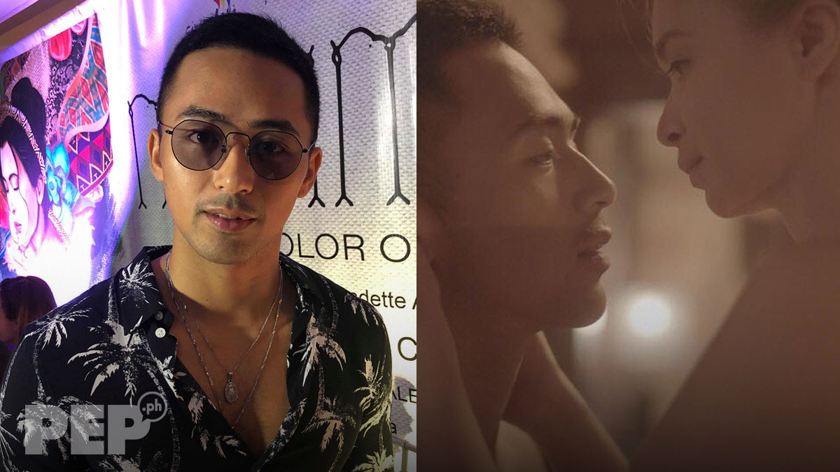 Enzo Pineda reveals thoughts about doing intimate scenes with childhood crush Sunshine Cruz
