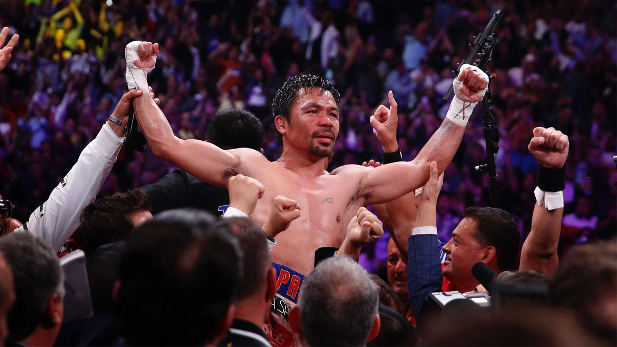 ABS-CBN, GMA-7 stars congratulate Manny Pacquiao for his win against Keith Thurman
