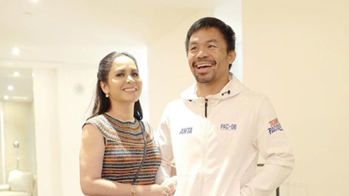 Jinkee Pacquiao wears PHP155,000 Chanel dress at Pacquiao-Thurman fight