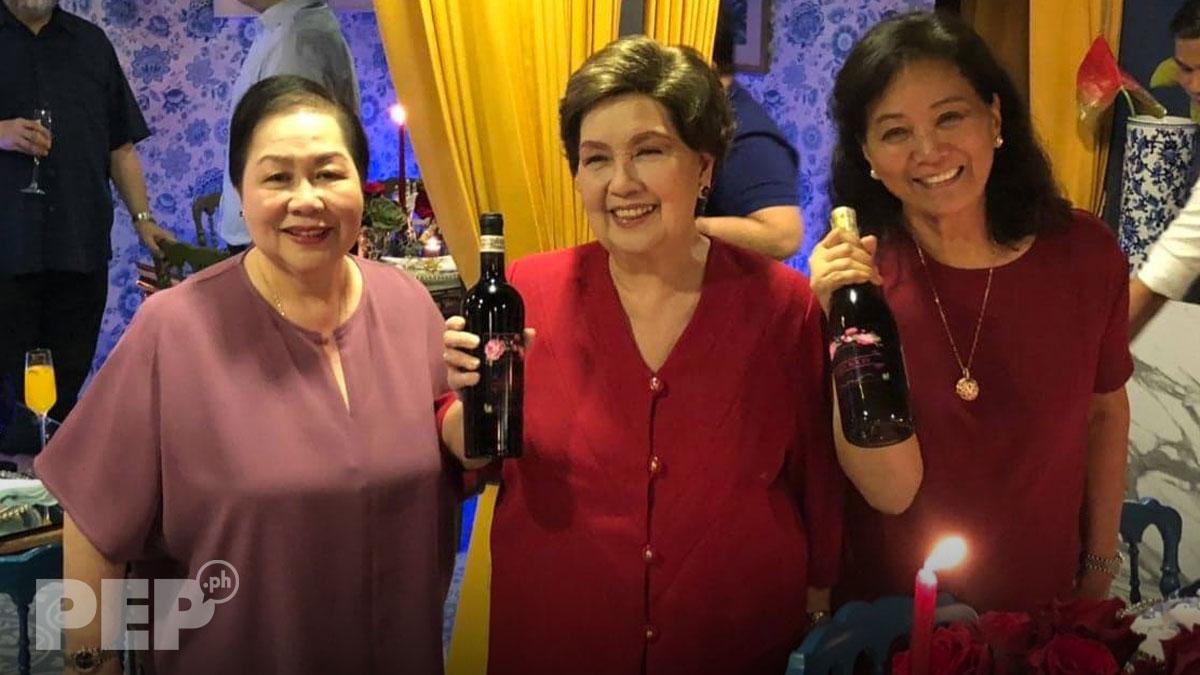 Susan Roces, nag-host ng advance party para sa ika-78 birthday