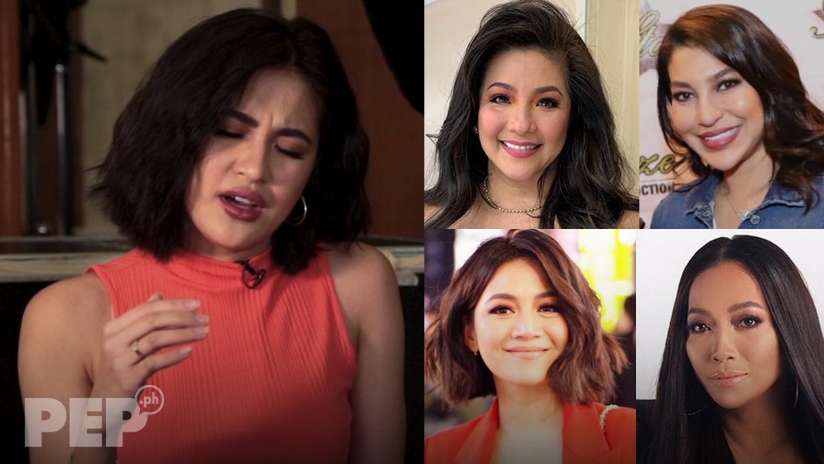 Julie Anne San Jose does Regine, Lani, Kyla, and Jaya