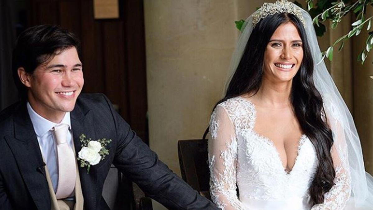 Phil Younghusband marries longtime girlfriend Margaret Hall in England