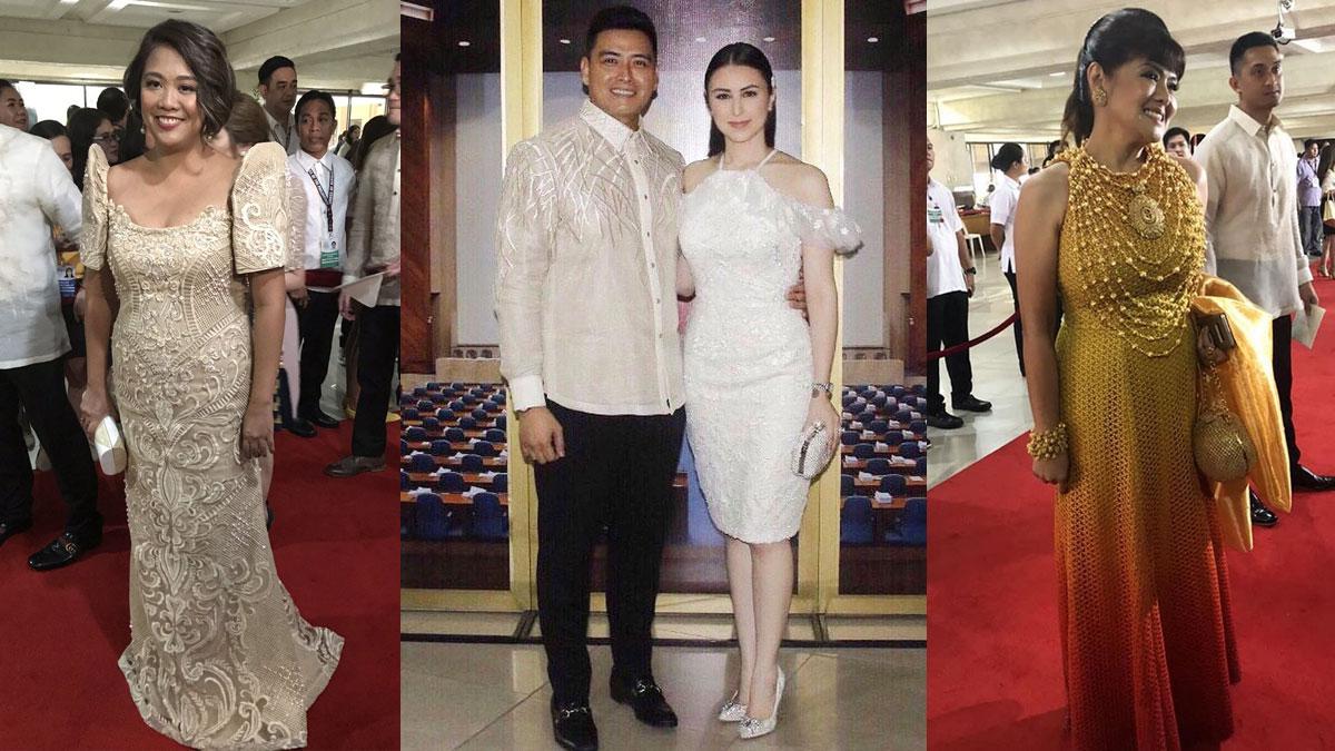 Senator Nancy Binay, vindicated sa kanyang gown ngayong SONA 2019