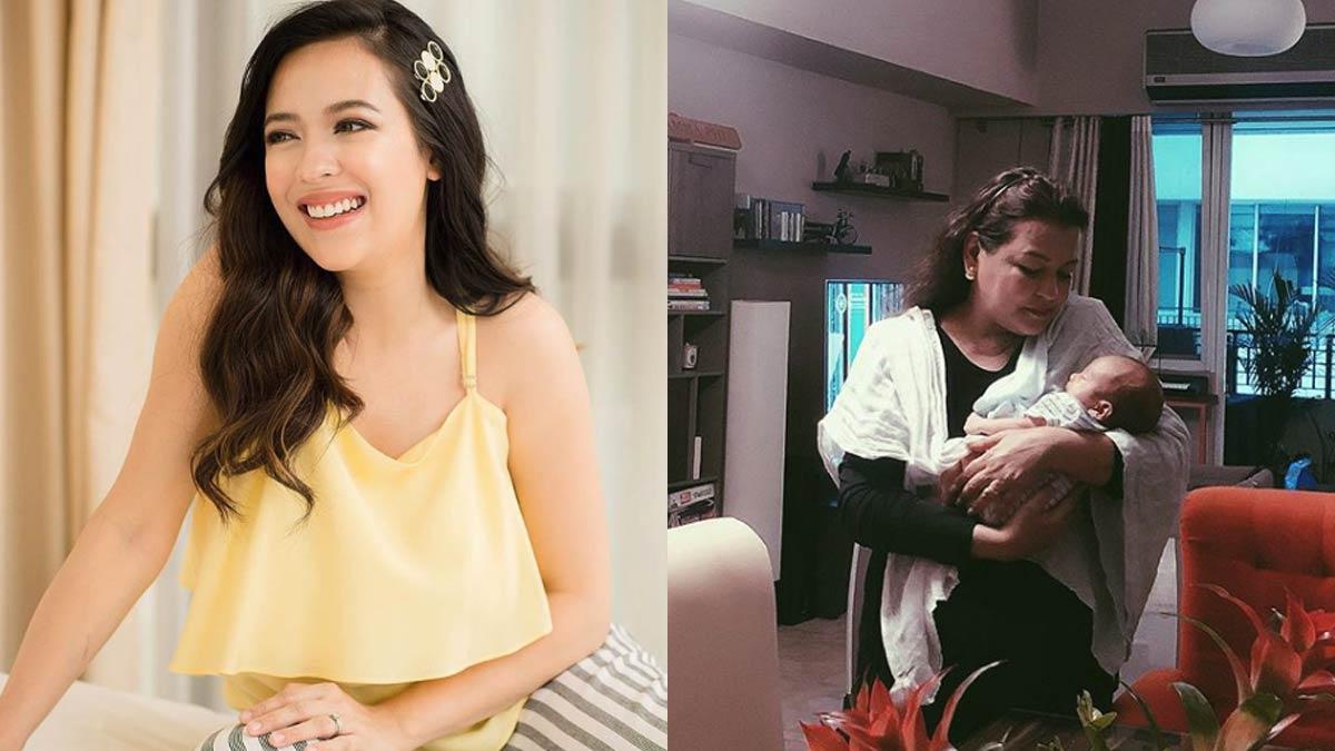 Karel Marquez writes appreciation post for mom Pinky