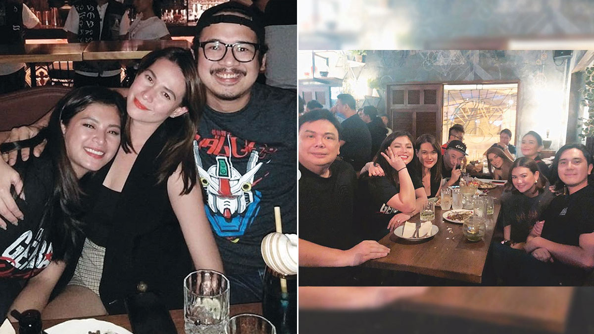 Bea Alonzo gets moral support from Angel Locsin, Angelica Panganiban