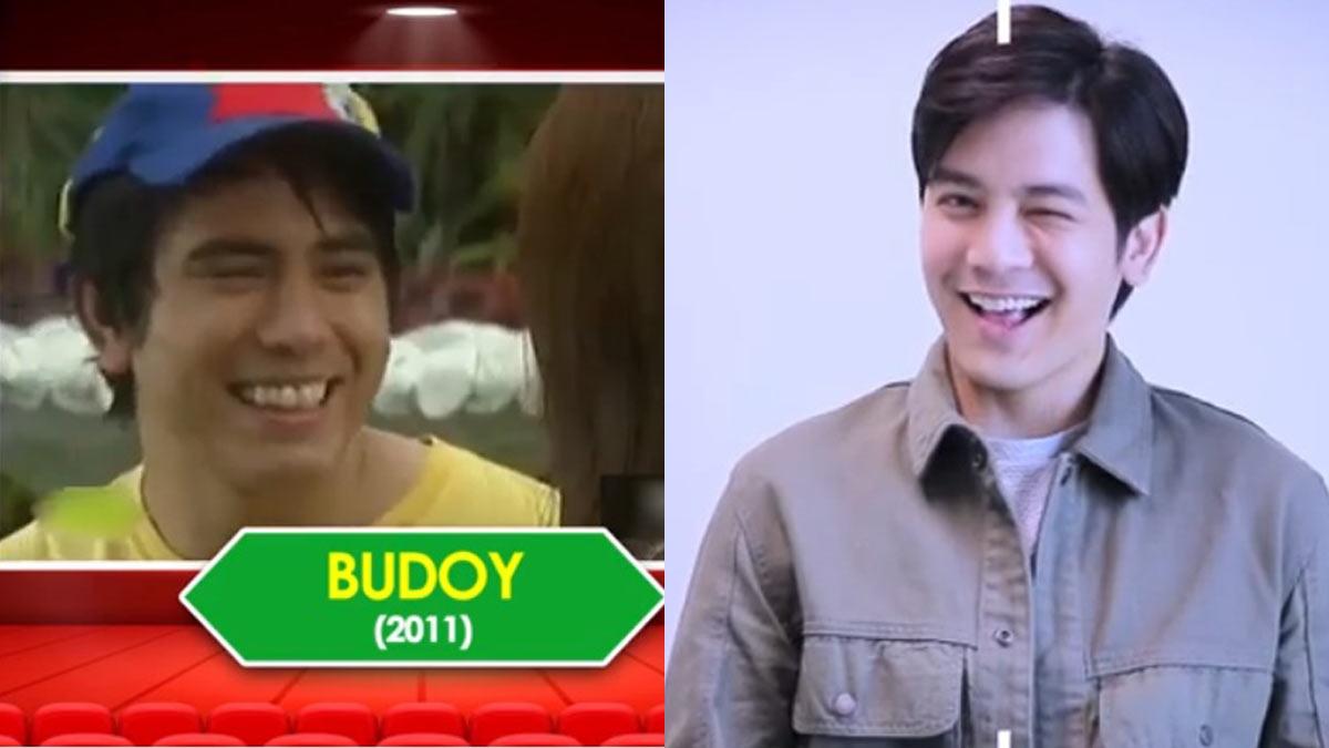 Joshua Garcia impersonates Gerald Anderson's Budoy character