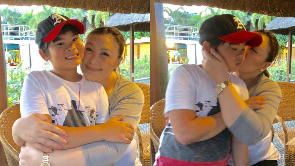 Sharon Cuneta reveals how she told son Miguel he is adopted