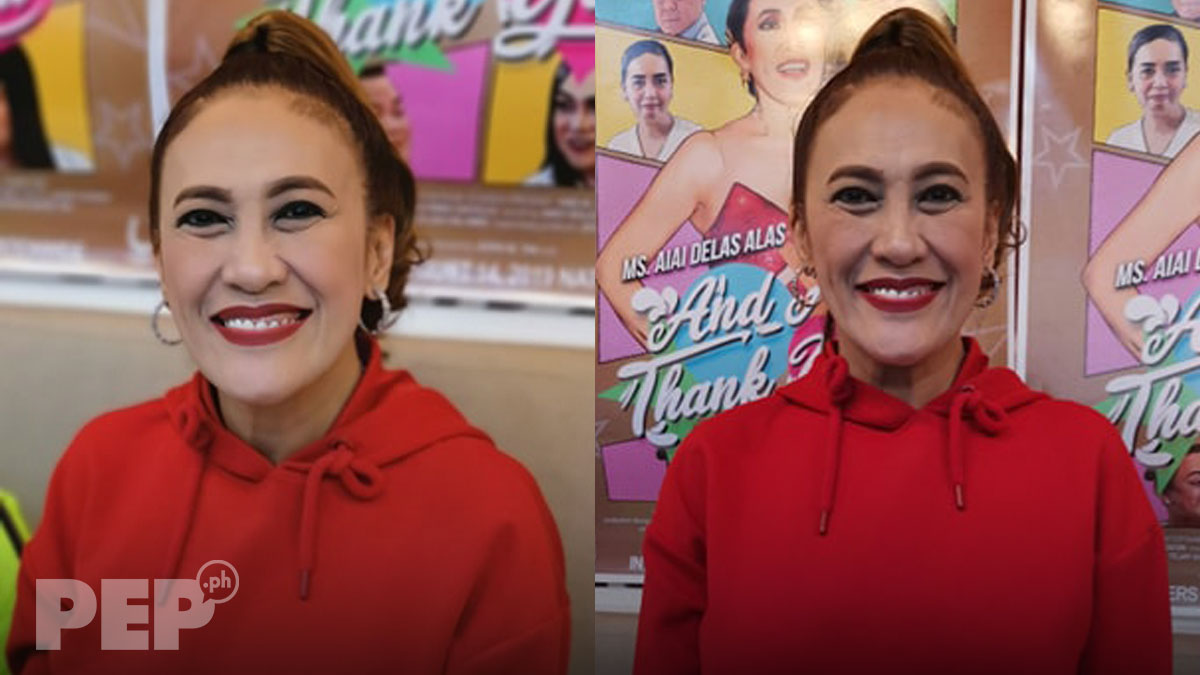 Ai-Ai delas Alas talks about her ghosting experiences