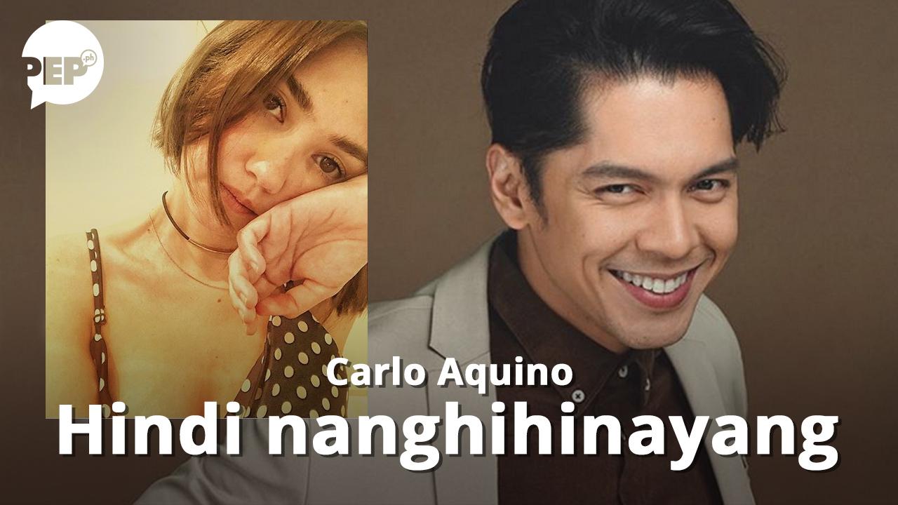 Carlo Aquino, hindi nanghihinayang sa nawalang CarGel love team