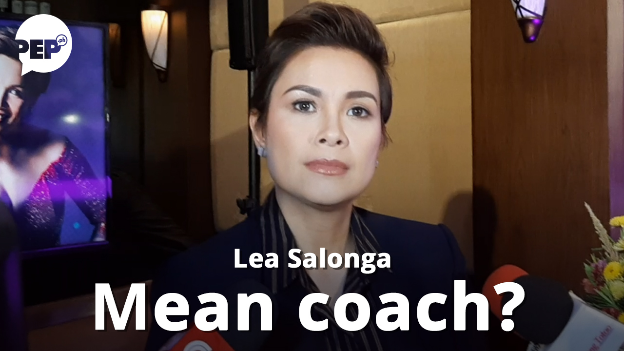 "Lea Salonga, ""mean"" coach ng The Voice Kids Philippines?"
