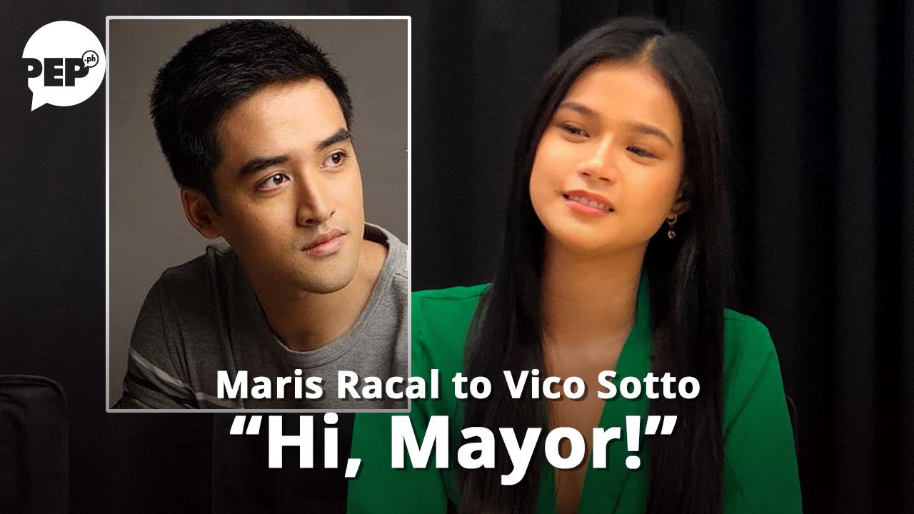 Ano ang gustong gawin ni Maris Racal kay Mayor Vico Sotto?