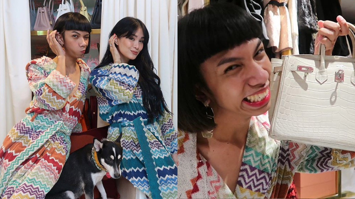 How vlogger Mimiyuuuuh gets to use Heart Evangelista's Birkin bag for his shoot