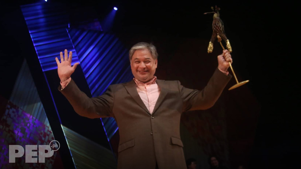 """Ricky Davao considers winning Cinemalaya Best Supporting Actor award as """"priceless"""""""