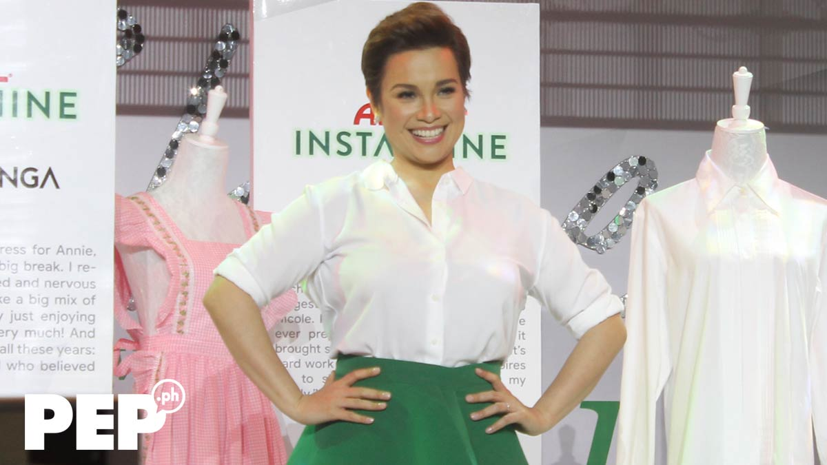 Lea Salonga is glad her daughter Nicole does her part in the housework