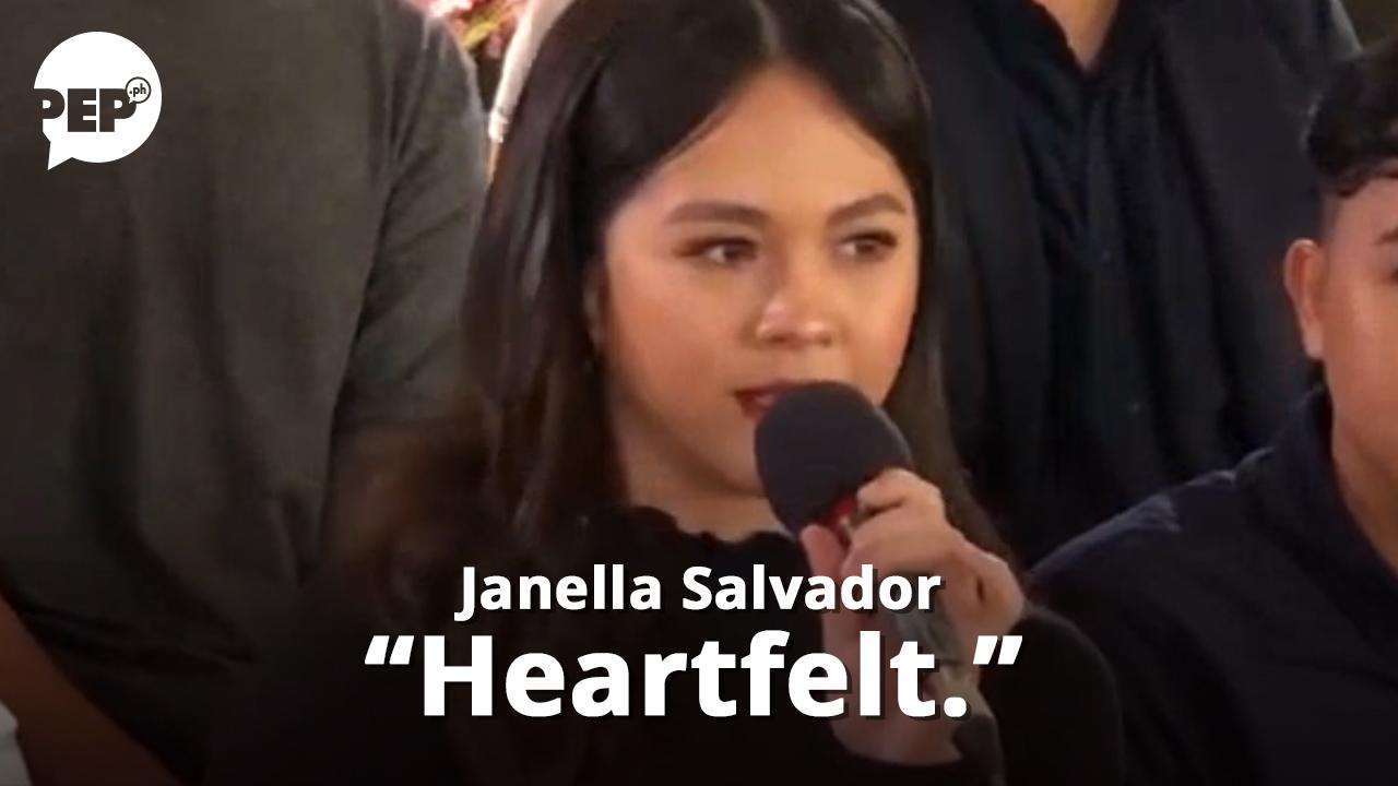 "Janella Salvador on her first break-up song: ""Heartfelt."""