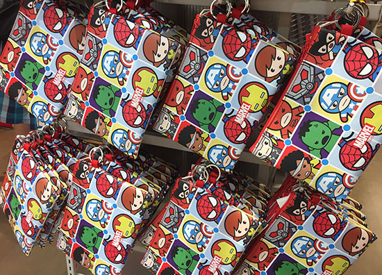 Marvel pouches