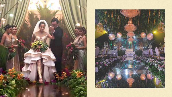Pinoy couple celebrates 25th anniversary with Crazy Rich Asians-inspired wedding