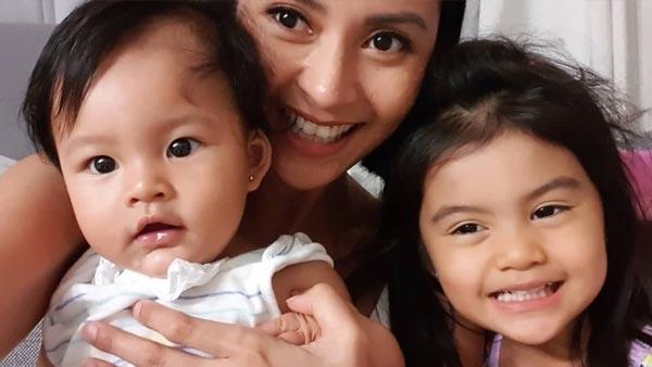 Bianca Gonzalez avoids showing stress when she is around her kids